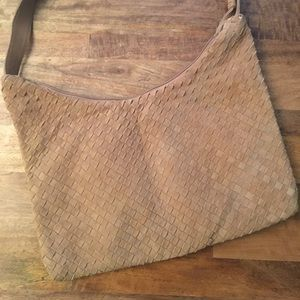 Handbags - Vintage Woven Leather Bag